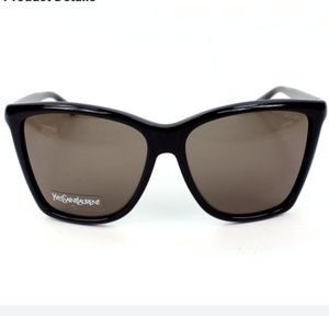 CHIC Yves Saint Laurent Black Sunglasses